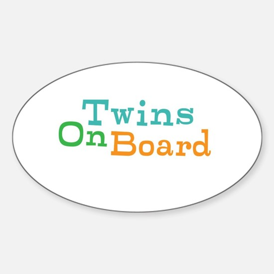 Twins On Board Decal