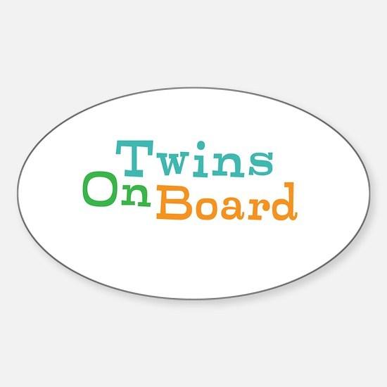 Twins On Board Decal