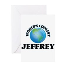 World's Coolest Jeffrey Greeting Cards