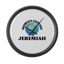 World's Coolest Jeremiah Large Wall Clock