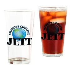 World's Coolest Jett Drinking Glass
