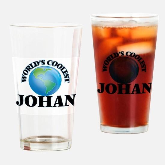 World's Coolest Johan Drinking Glass