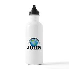 World's Coolest John Water Bottle