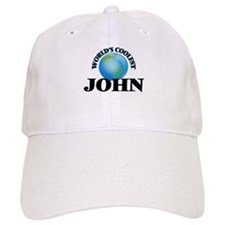 World's Coolest John Baseball Cap