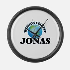 World's Coolest Jonas Large Wall Clock