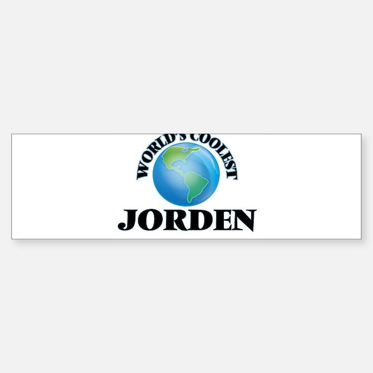 World's Coolest Jorden Bumper Bumper Bumper Sticker