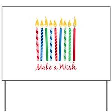 Make a Wish Yard Sign