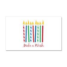 Make a Wish Car Magnet 20 x 12