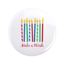 "Make a Wish 3.5"" Button (100 pack)"