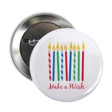 """Make a Wish 2.25"""" Button (10 pack)"""