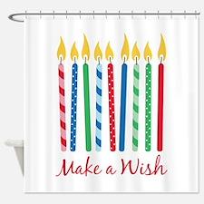 Make a Wish Shower Curtain