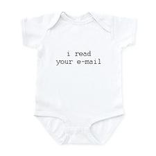 i read your e-mail Infant Bodysuit