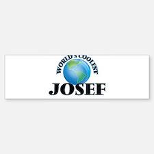 World's Coolest Josef Bumper Bumper Bumper Sticker