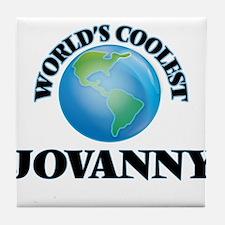 World's Coolest Jovanny Tile Coaster