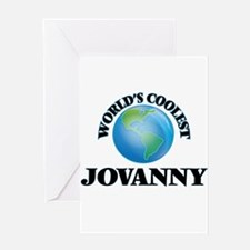 World's Coolest Jovanny Greeting Cards