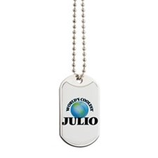 World's Coolest Julio Dog Tags
