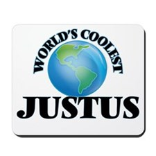World's Coolest Justus Mousepad