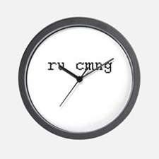 ru cmgn - are you coming Wall Clock