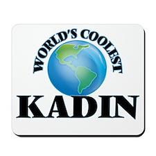 World's Coolest Kadin Mousepad