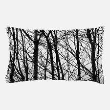 Winter Trees Pillow Case