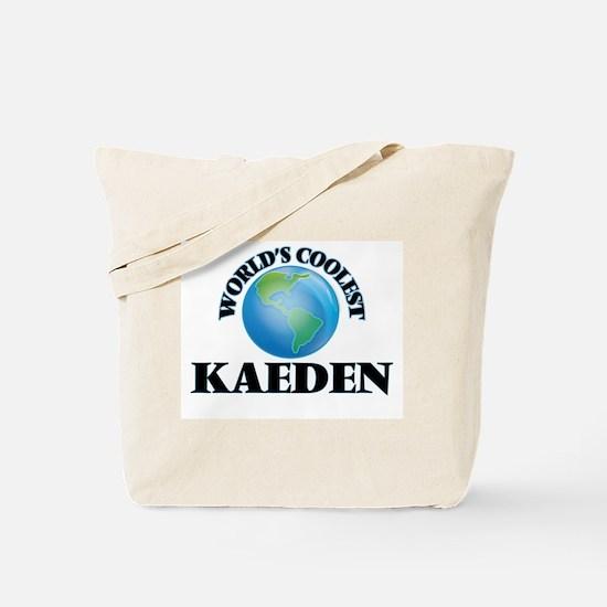 World's Coolest Kaeden Tote Bag