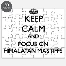 Keep calm and focus on Himalayan Mastiffs Puzzle