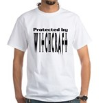 Protected by Witchcraft White T-Shirt