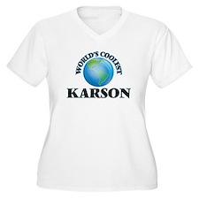 World's Coolest Karson Plus Size T-Shirt