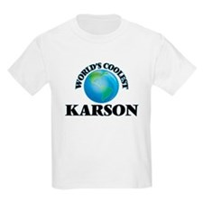 World's Coolest Karson T-Shirt