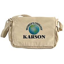 World's Coolest Karson Messenger Bag