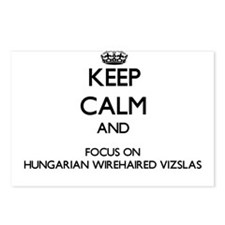 Keep calm and focus on Hu Postcards (Package of 8)