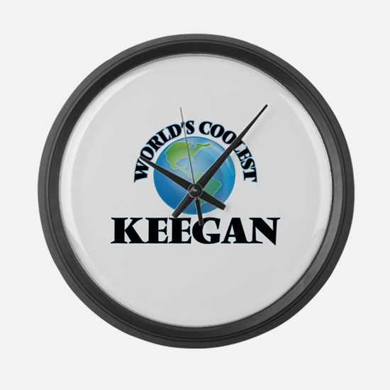 World's Coolest Keegan Large Wall Clock