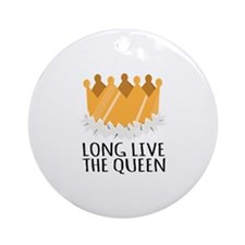 The Queen Ornament (Round)