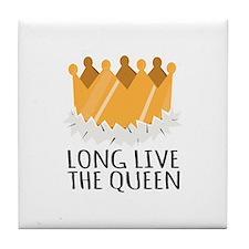 The Queen Tile Coaster