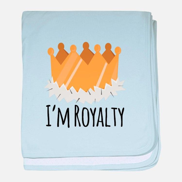 Im Royalty baby blanket