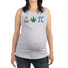 3-chickenpotpi.png Maternity Tank Top
