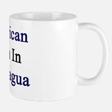 American Born In Nicaragua  Mug