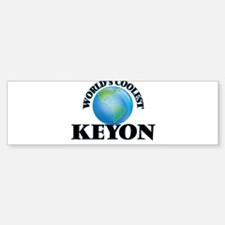 World's Coolest Keyon Bumper Car Car Sticker