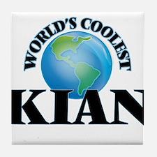 World's Coolest Kian Tile Coaster