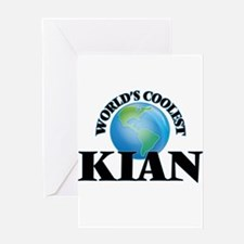World's Coolest Kian Greeting Cards