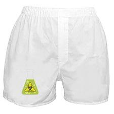 Biohazard Beaker Boxer Shorts
