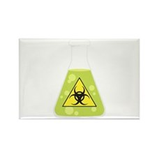 Biohazard Beaker Magnets