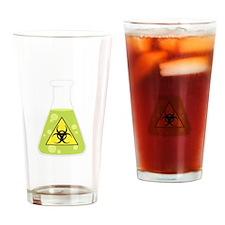 Biohazard Beaker Drinking Glass
