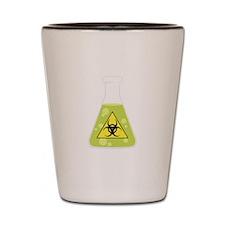 Biohazard Beaker Shot Glass