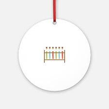Test Tubes Ornament (Round)