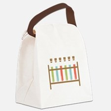 Test Tubes Canvas Lunch Bag