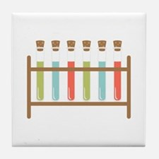Test Tubes Tile Coaster