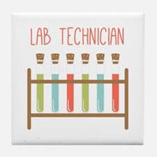 Lab Technician Tile Coaster