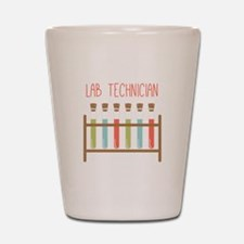 Lab Technician Shot Glass