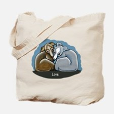 Italian Greyhound Huddle Tote Bag